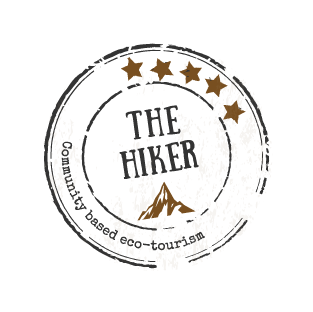 HIKER LOGO_logo round light texture