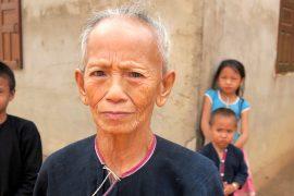 the hiker, lanten lady, lanten tribe, laos, northern laos, luang namtha, tribe