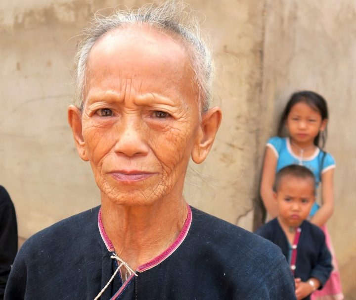 the hiker, lanten lady, lanten tribe, laos, northern laos, luang namtha, tribe